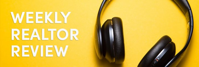 headphones on a colorful background